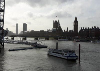 River Thames and London Bridges