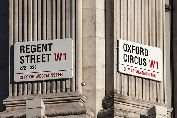 a west london street scene