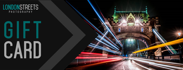 London Streets Photography Gift Cards