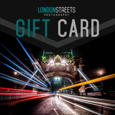 London Streets Photography Gift Card